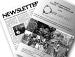 newsletters-printed media